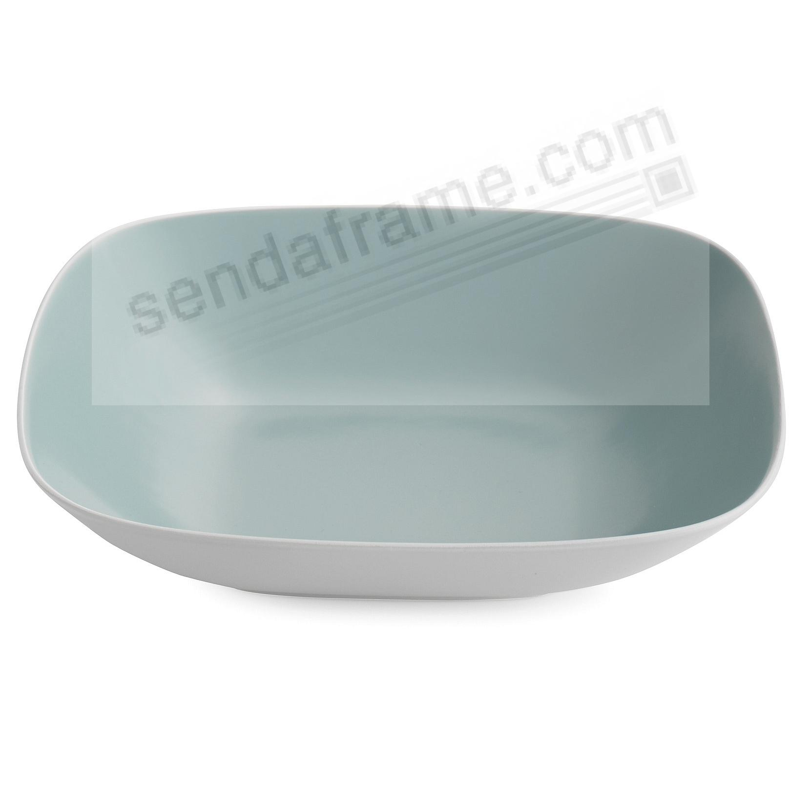 POP SOFT SQUARE SERVING BOWL OCEAN-BLUE by Nambe®