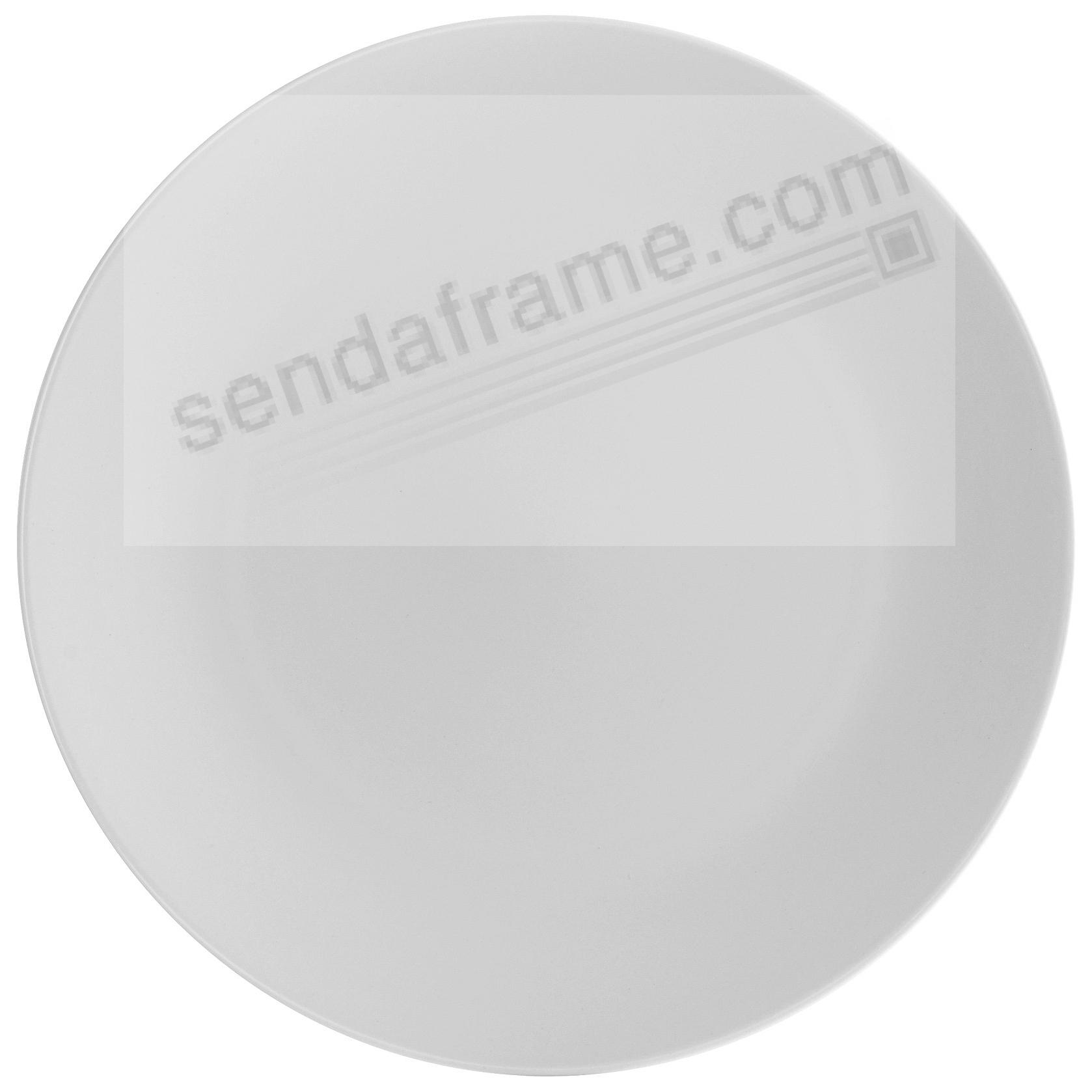POP DINNER PLATE CHALK WHITE by Nambe®
