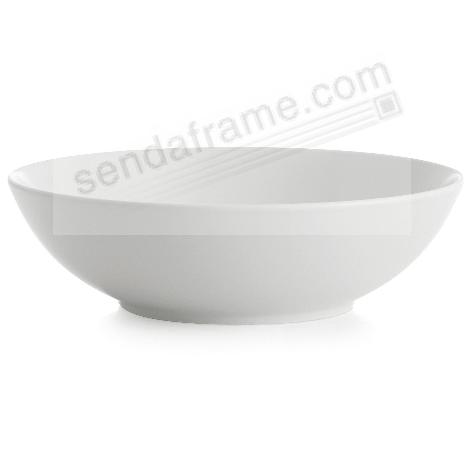 POP SOUP/CEREAL BOWL CHALK-WHITE by Nambe®