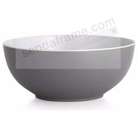 POP SERVING BOWL SLATE-GREY by Nambe®