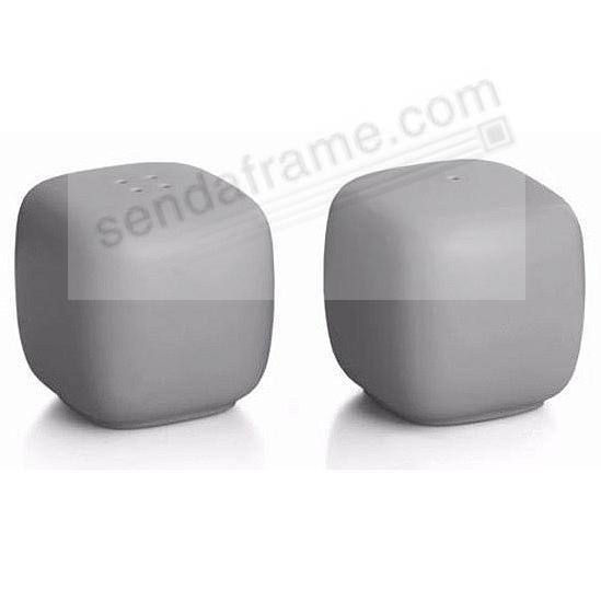POP SALT + PEPPER SHAKERS SLATE-GREY by Nambe®