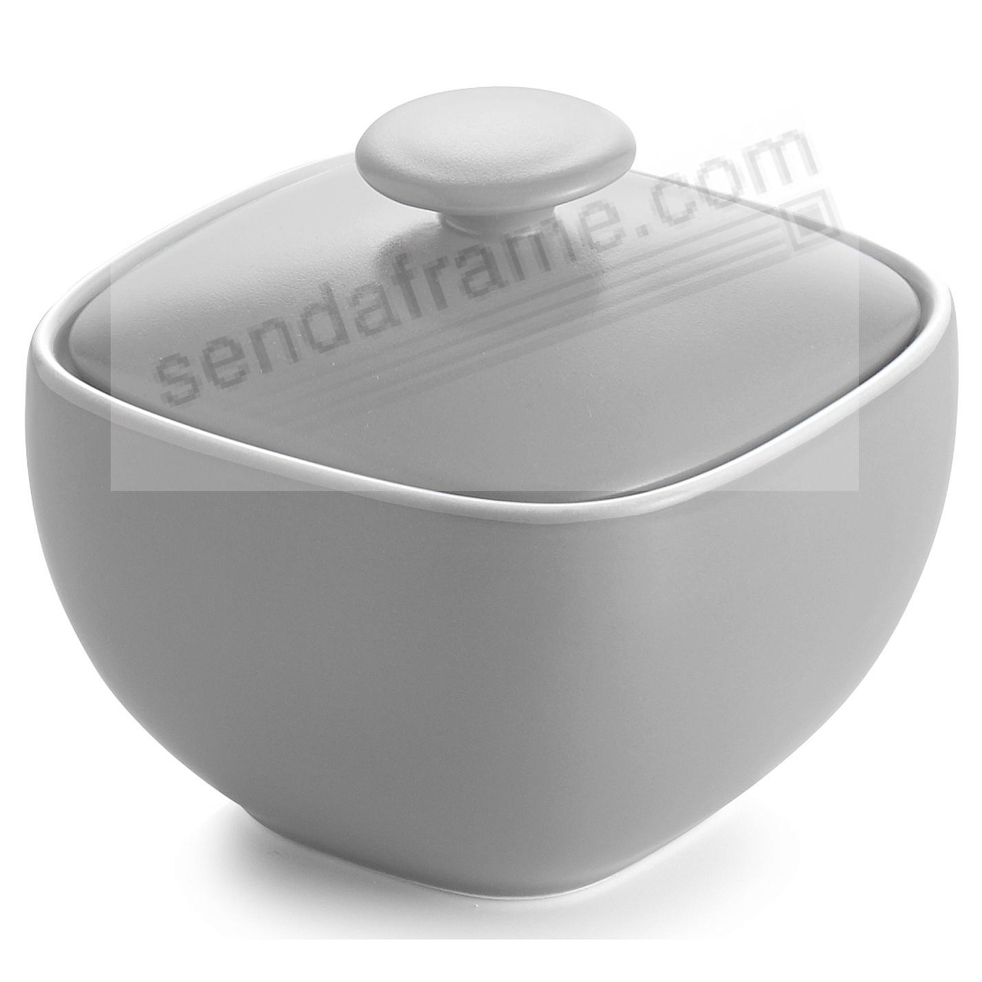 POP SUGAR BOWL SLATE-GREY by Nambe®