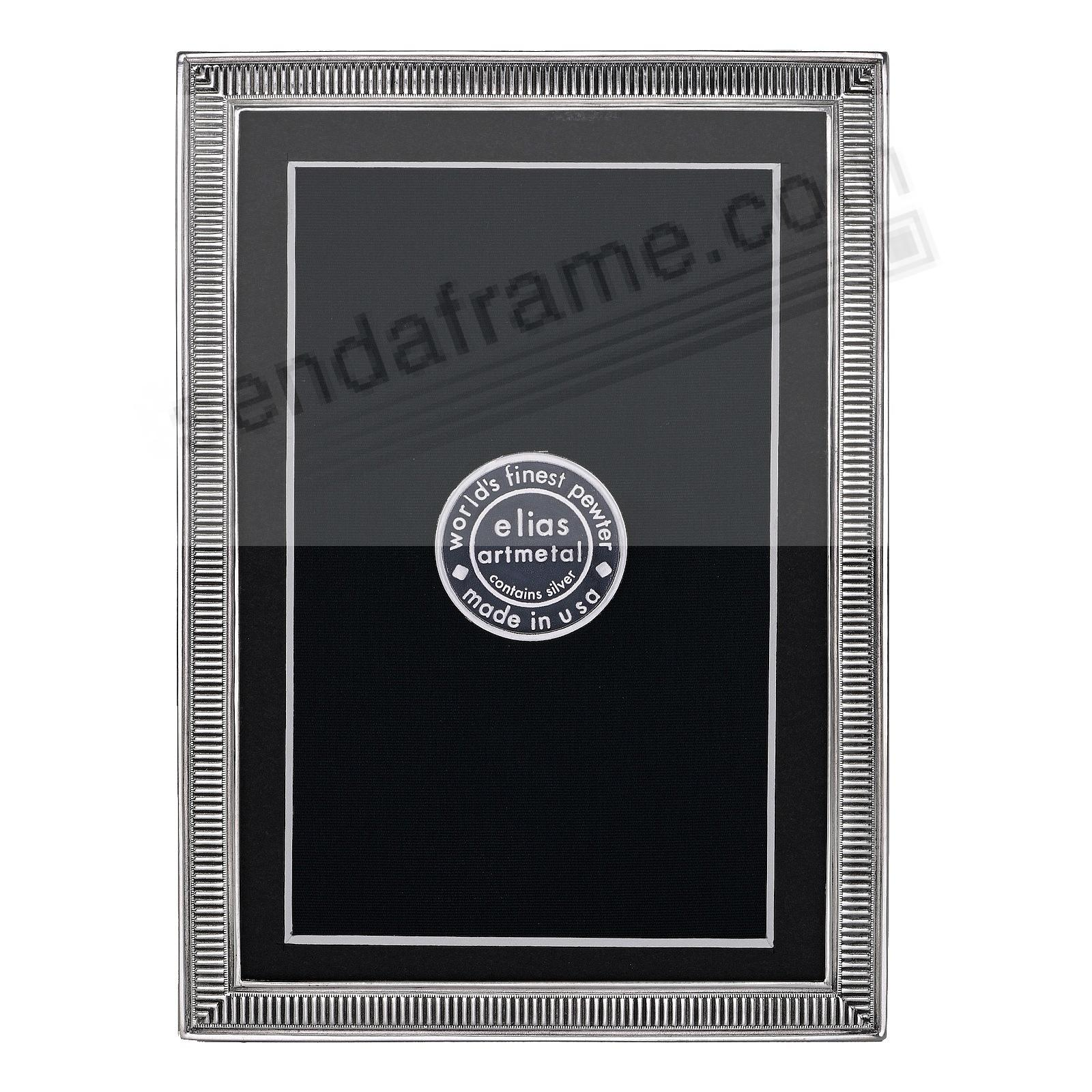 LINE BY LINE Fine Silvered Pewter frame 4x6/3½x5½ by Elias Artmetal®