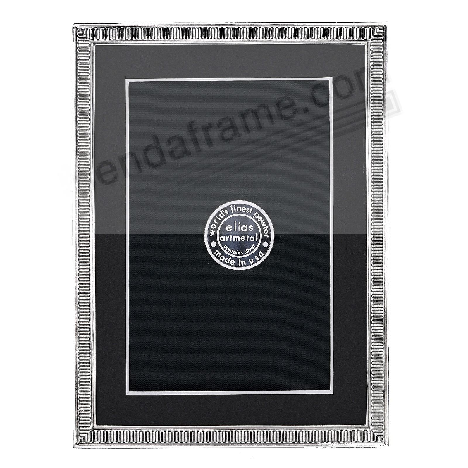 LINE BY LINE Fine Silvered Pewter frame 5x7/4x6 by Elias Artmetal®