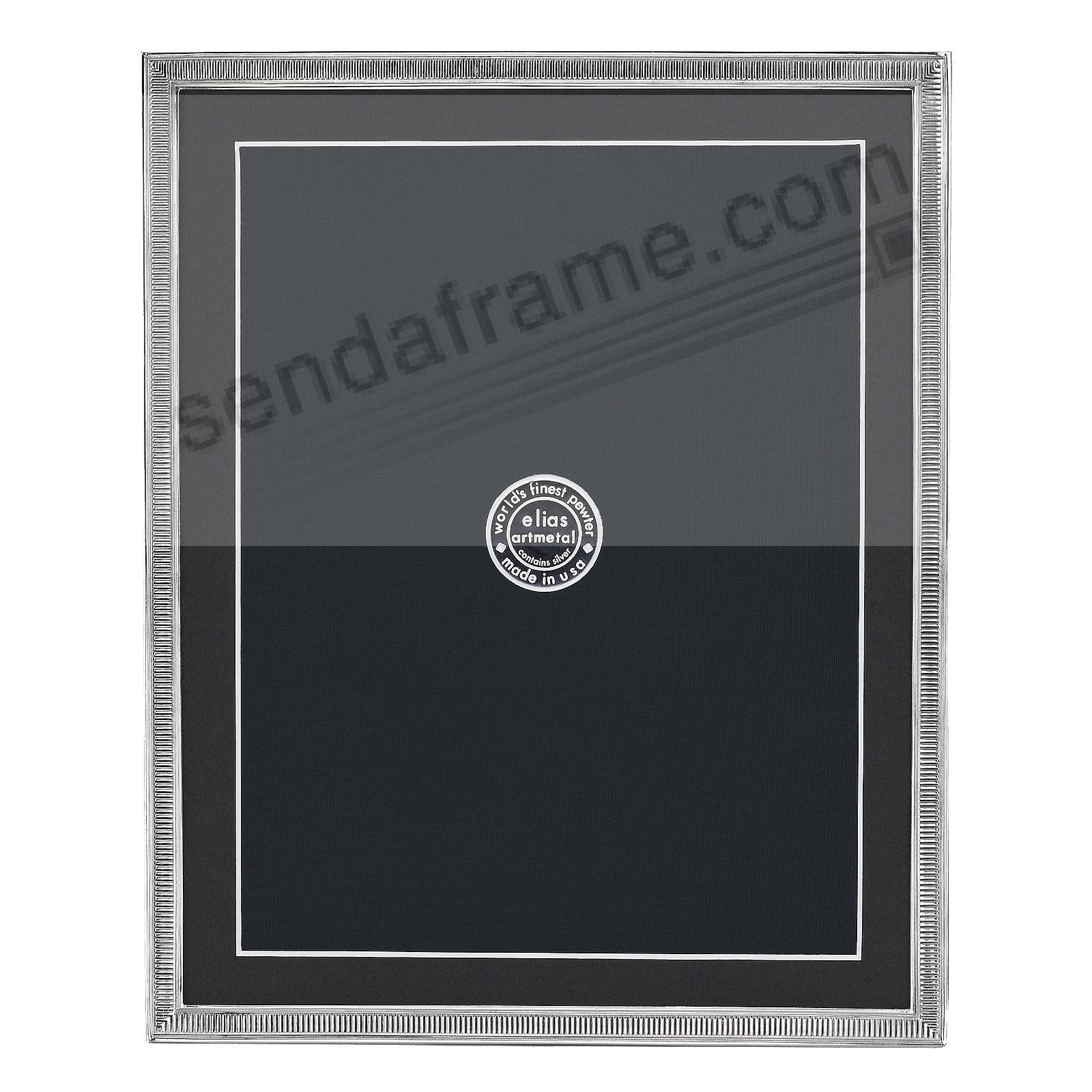 LINE BY LINE Fine Silvered Pewter frame 8x10/7x9 by Elias Artmetal®