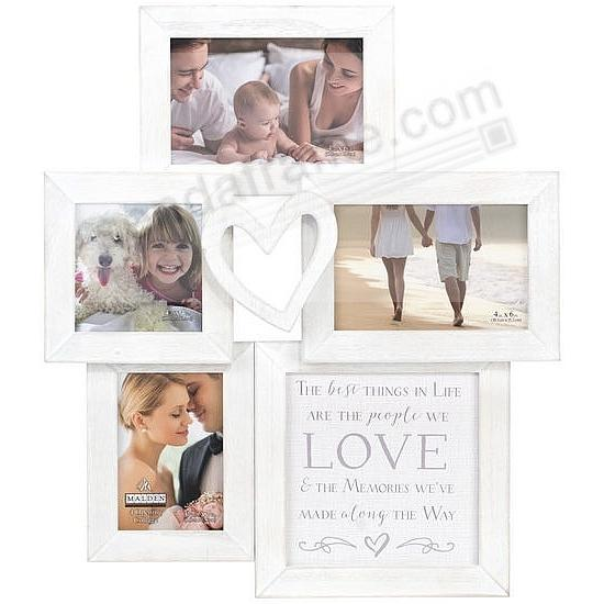 LOVE HEART Collage frame by Malden® - Picture Frames, Photo Albums ...