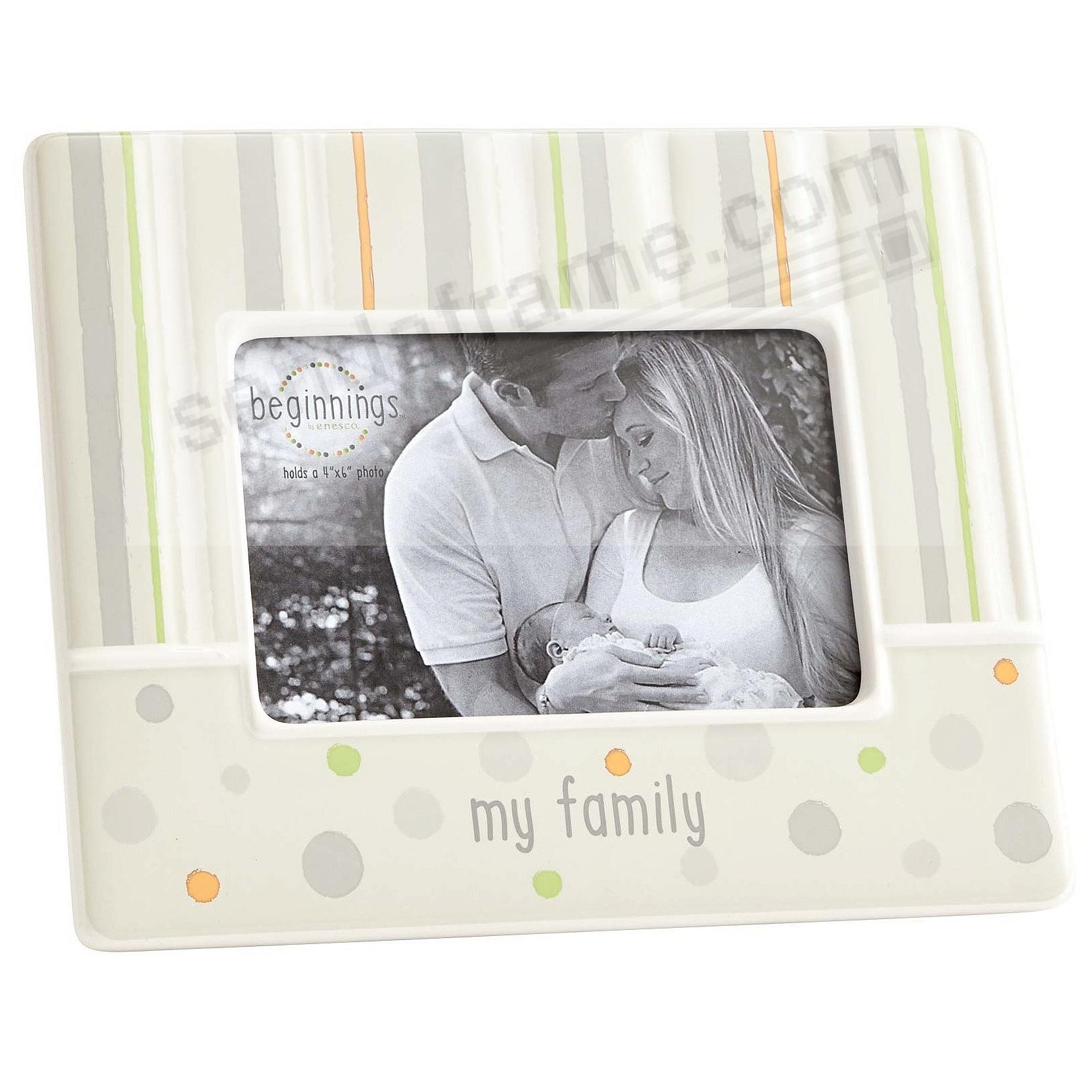 MY FAMILY Frame by Beginnings®