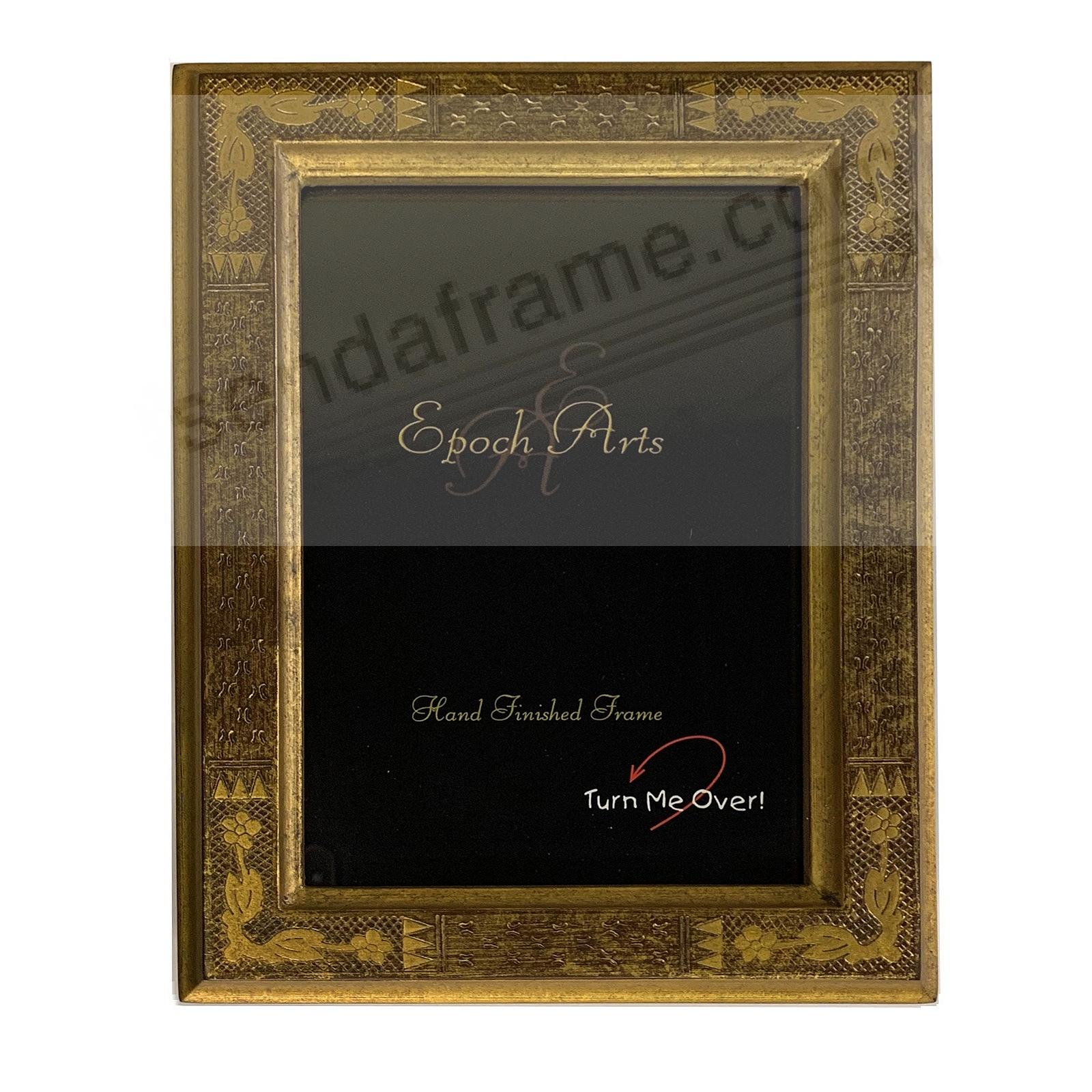 IMPRESSIONIST Golden wood antique reproduction by Epoch Arts®