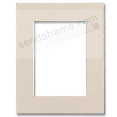 Ivory Mat Board Fits 5x7 Frame Displays 4x6 Print Picture Frames