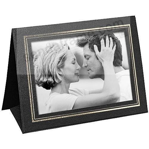 Black GRANDEUR 6x4 Tent Frames w/Gold-foil border (sold in 25s)
