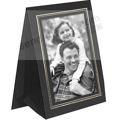 Black GRANDEUR 4x6 Tent Frames w/Gold-foil border (sold in 25s)