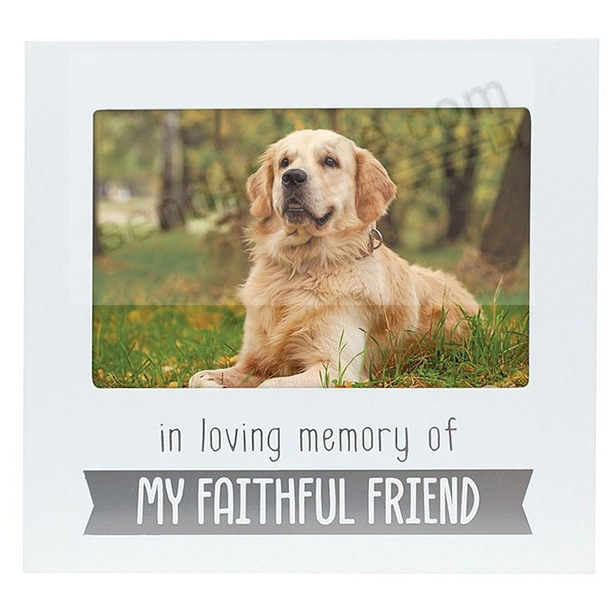 IN LOVING MEMORY PET White keepsake frame by Pearhead®