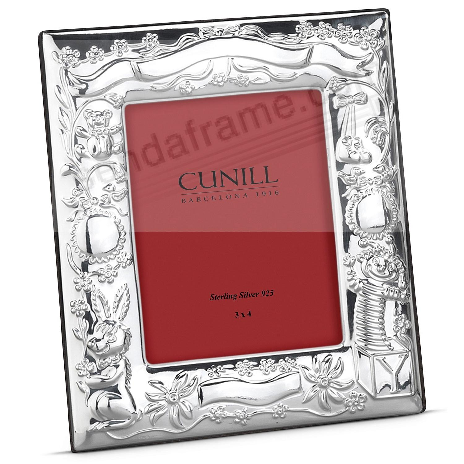 Fine Sterling Silver JACK+FRIENDS BIRTH RECORD Frame by Cunill ...