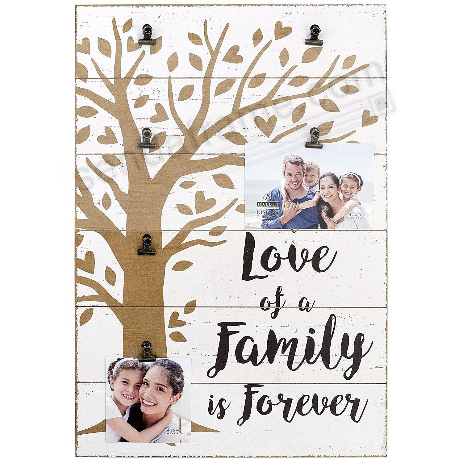 LOVE OF A FAMILY Life Expressions Clip frame by Malden USA®
