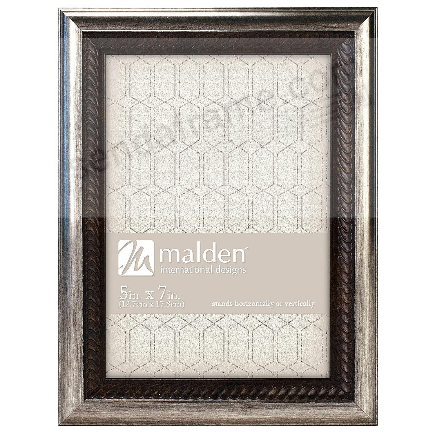 BRONZE WAVE Braid-Trim classic 5x7 by Malden®