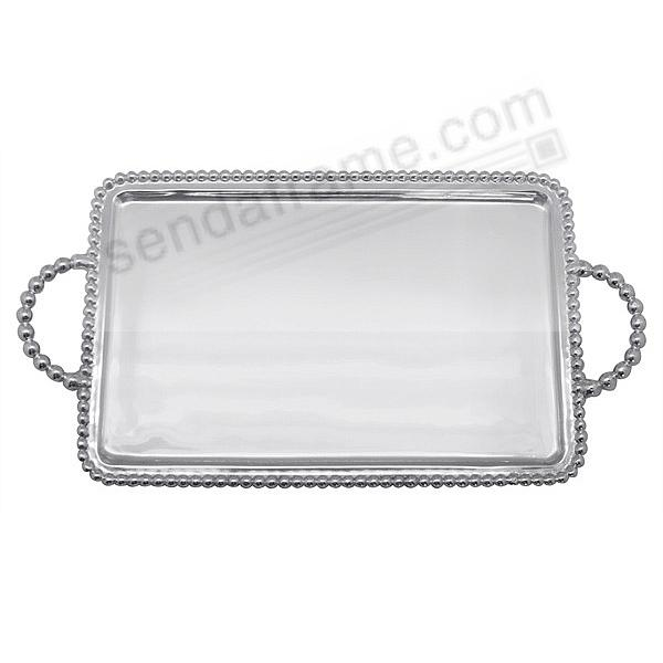 BEADED SERVING TRAY (Medium) by Mariposa®