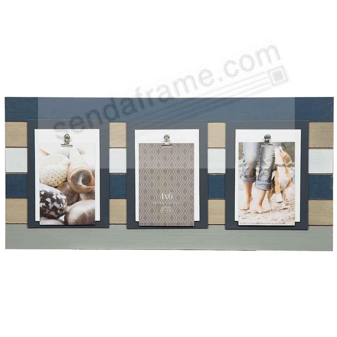 3-CLIP PLANK WOOD frame by Gallery Solutions™