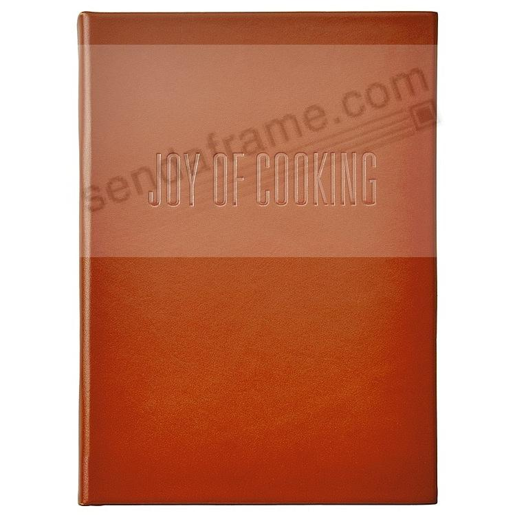 (THE) JOY OF COOKING Luxe Full-Grain Rust Vachetta Leather by Graphic Image™