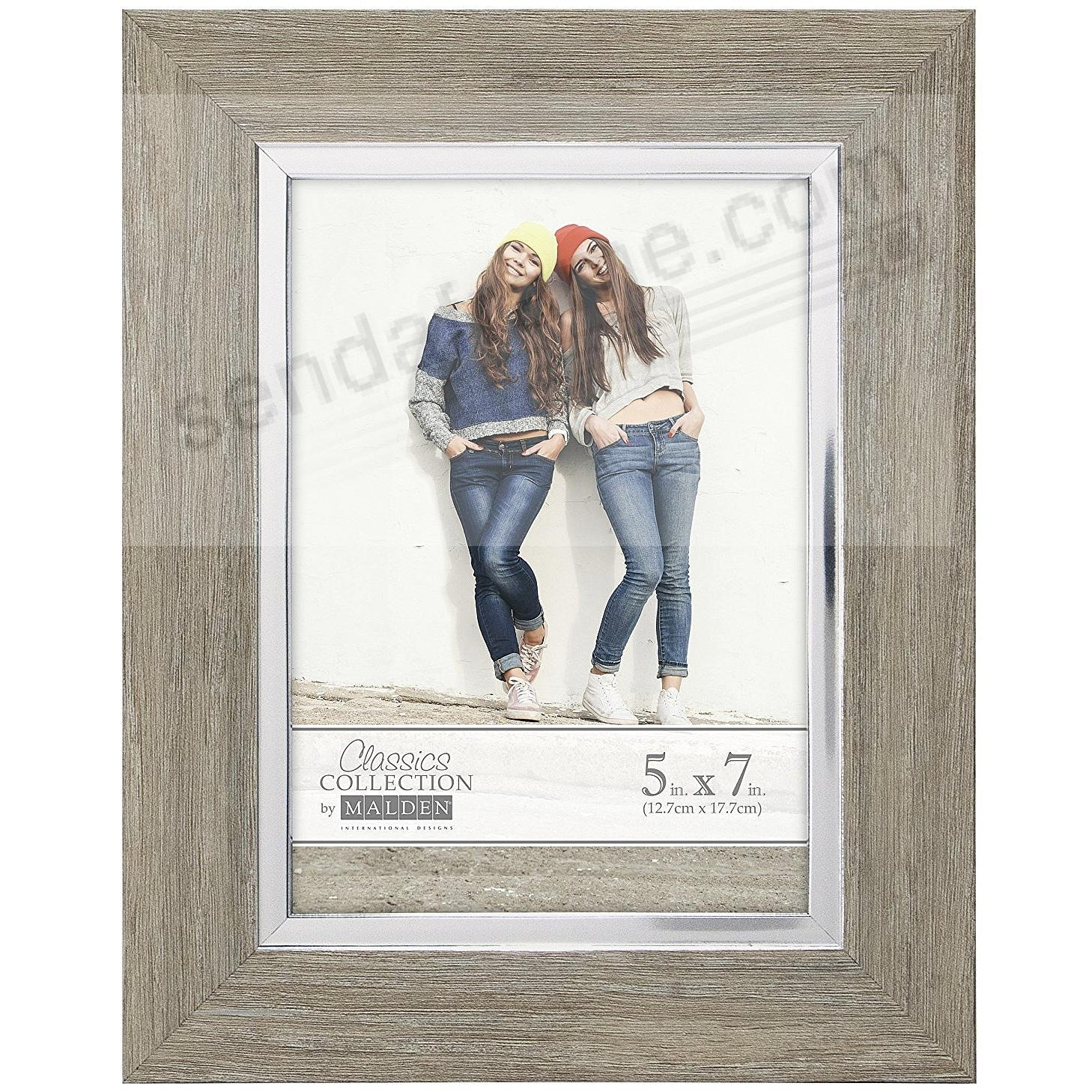 SILVER LINING 5x7 frame by Malden Design®