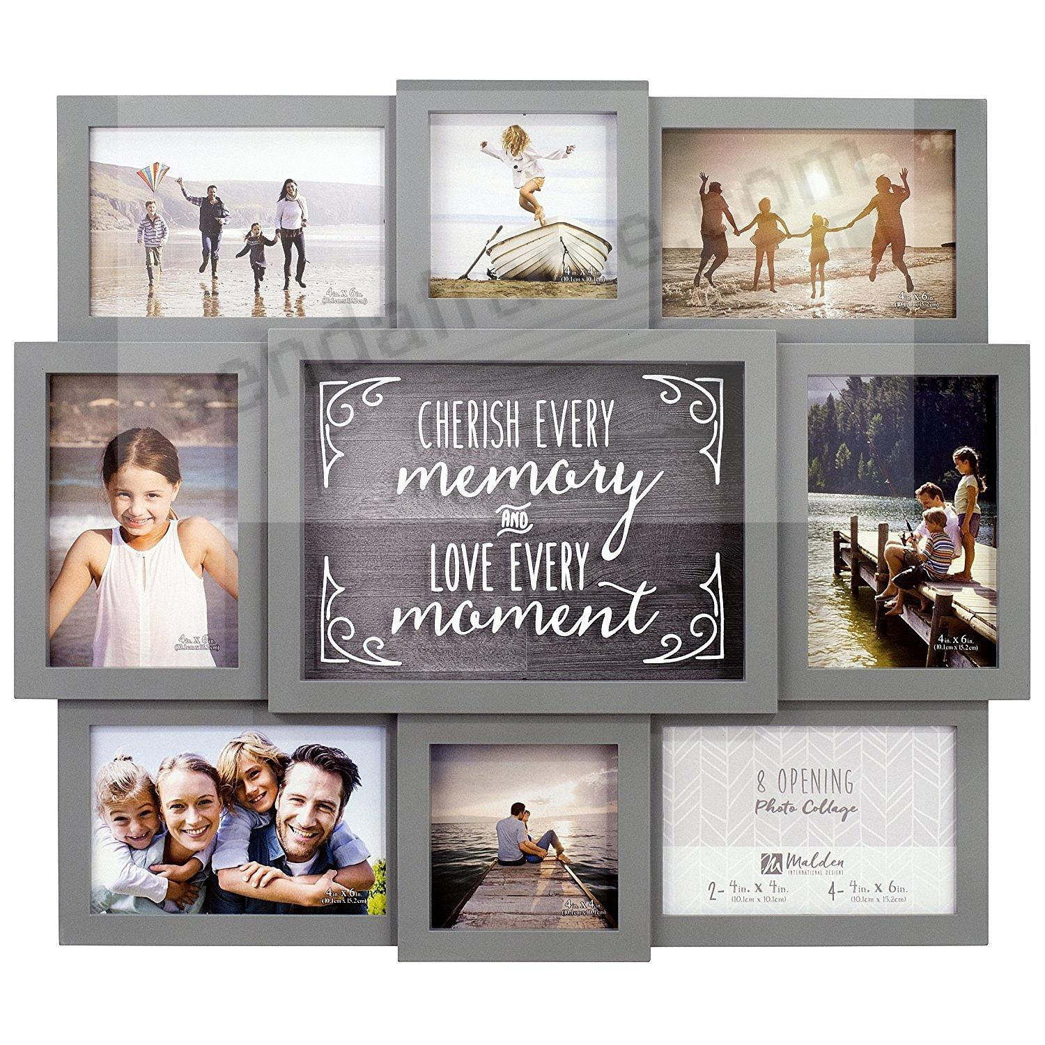 Cherish Every Memory Love Every Moment Collage By Malden Picture Frames Photo Albums Personalized And Engraved Digital Photo Gifts Sendaframe