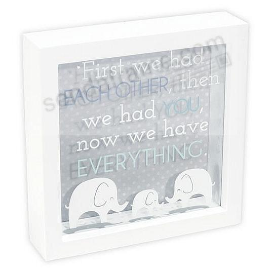 NOW WE HAVE EVERYTHING Box Sign by Malden Designs®