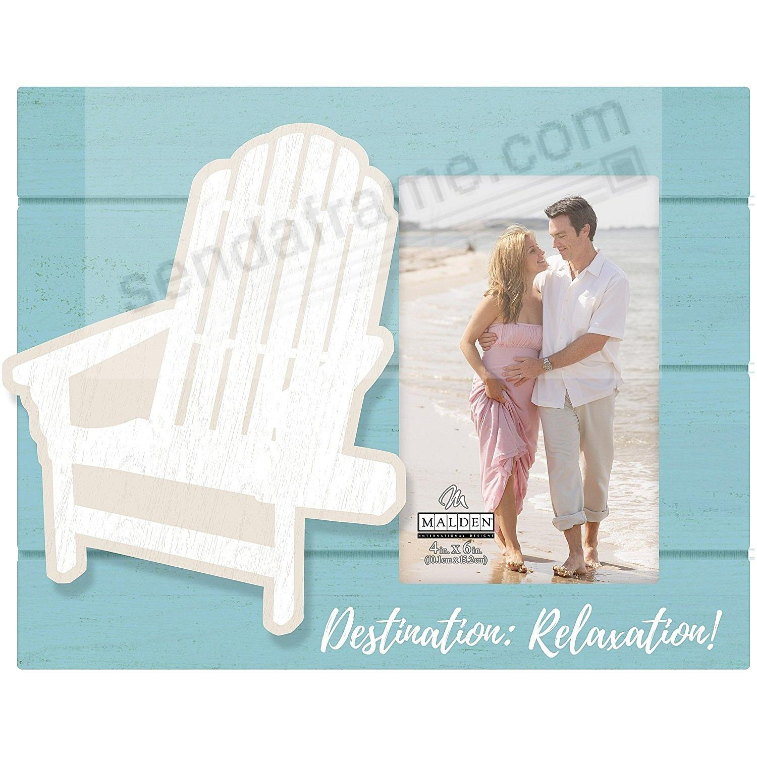 DESTINATION RELAXATION 4x6 Frame by Malden® - Picture Frames, Photo ...
