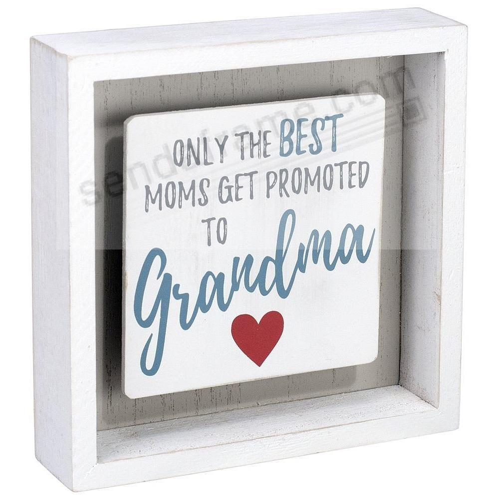 Promoted To Grandma Box Sign By Malden Picture Frames Photo