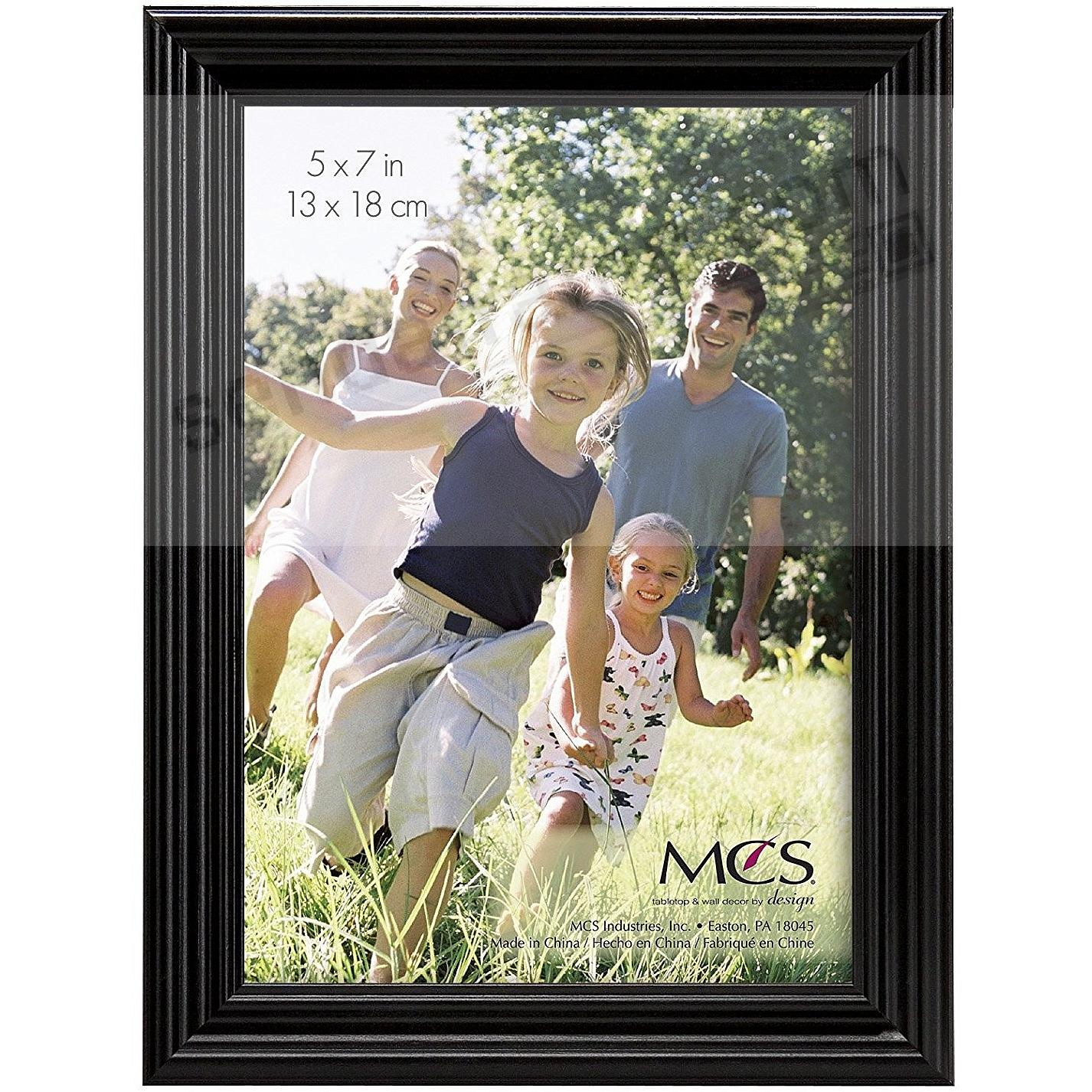 STYLE ONE Black Solid Wood 5x7 frame from MCS®