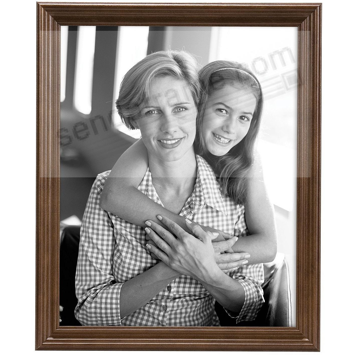 STYLE ONE Solid Wood Walnut 8x10 frame from MCS®