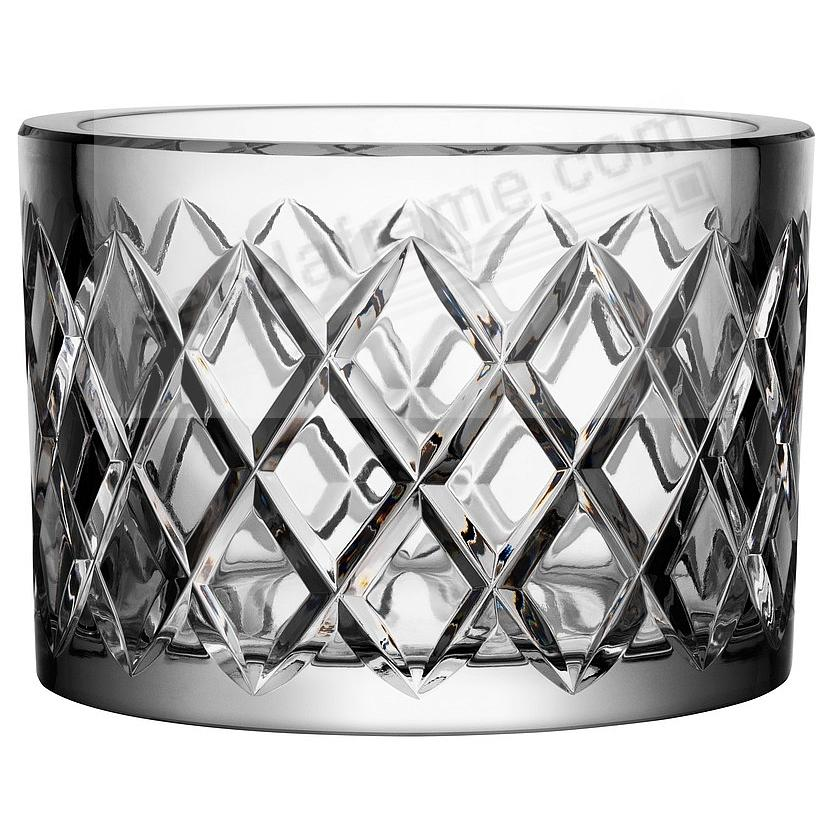 The LEGENDS CHECKERED BOWL (medium) crafted by Orrefors®