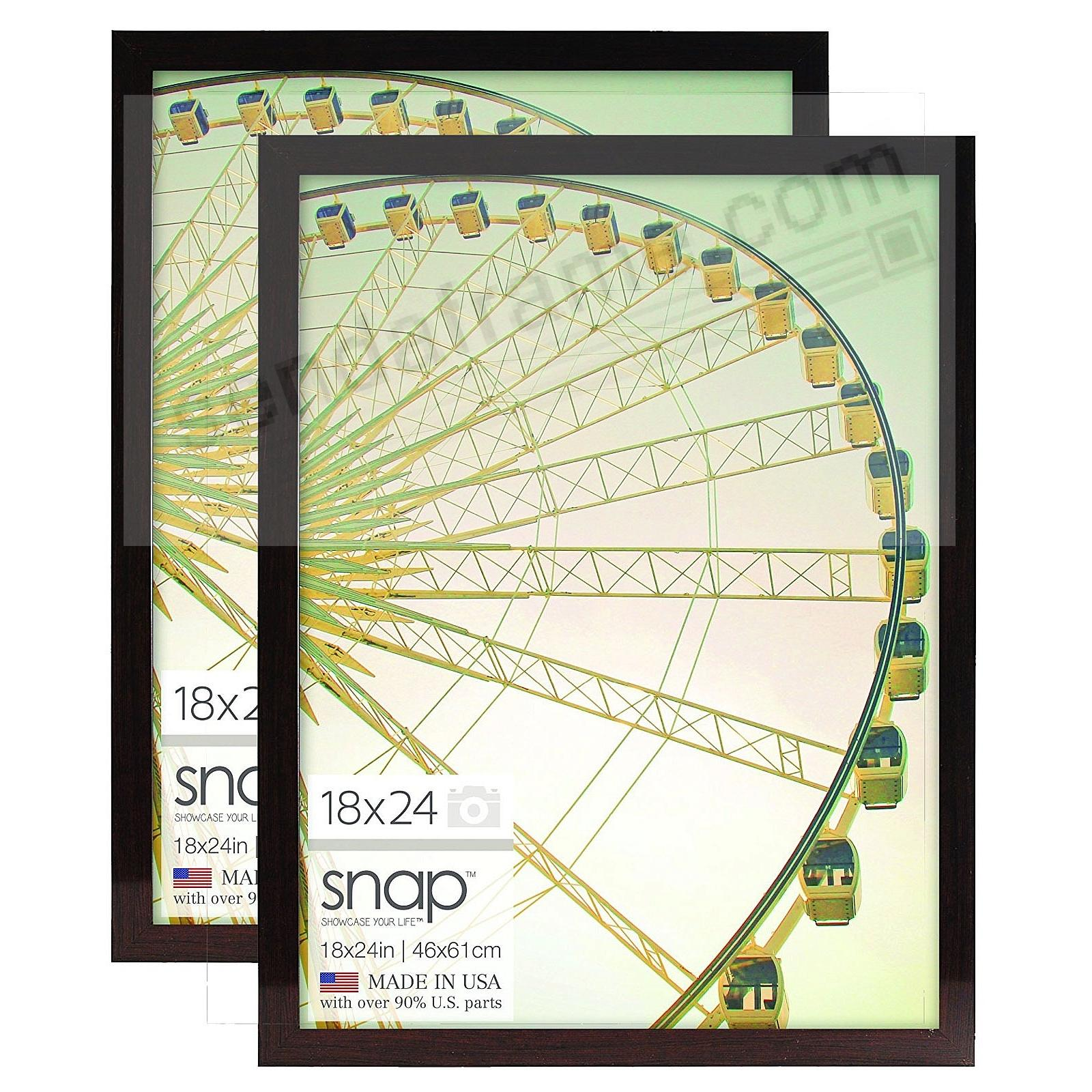 SNAP® Ashwood-Brown Poster 18x24 Frame (sold in 2s)