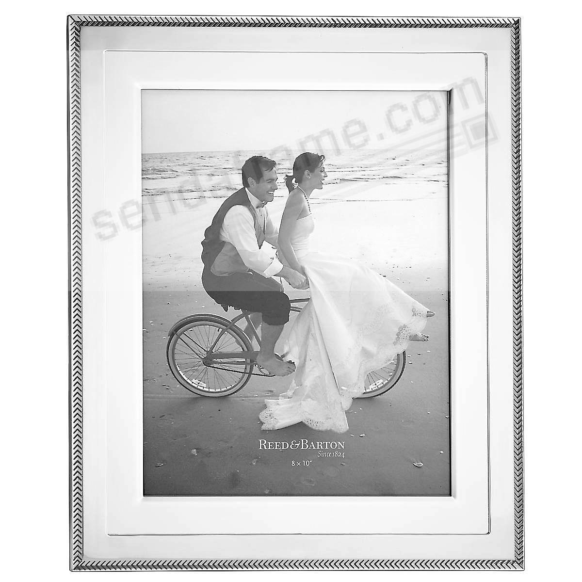 KENLIE Reed & Barton® Silverplate 8x10 frame - Engraveable