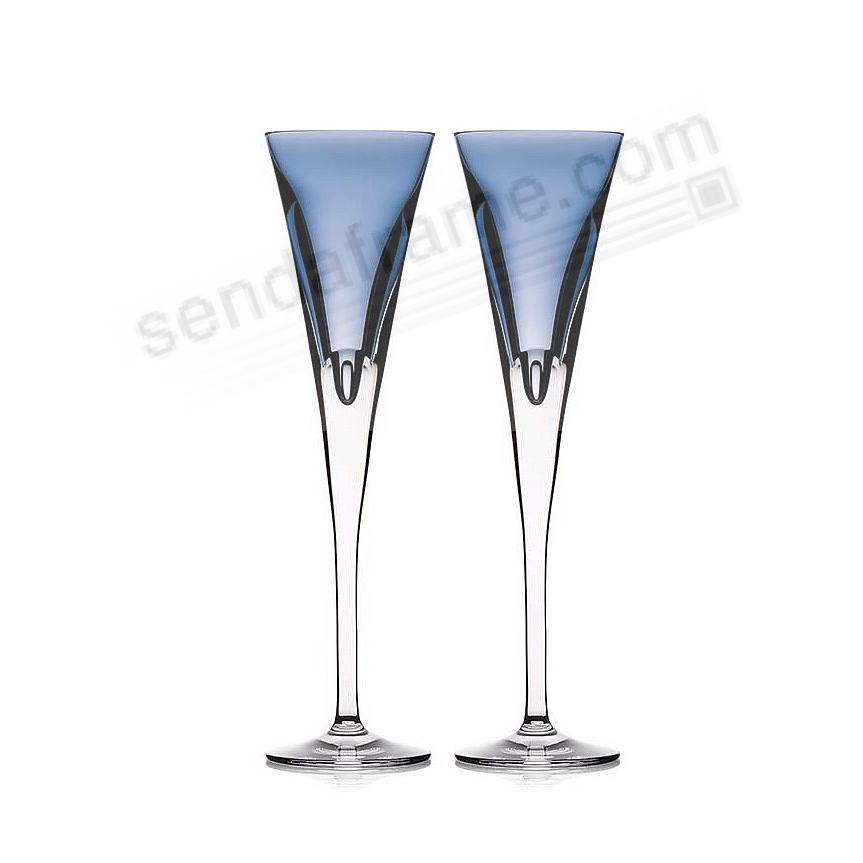 The W SKY CHAMPAGNE FLUTE by Waterford (pair)