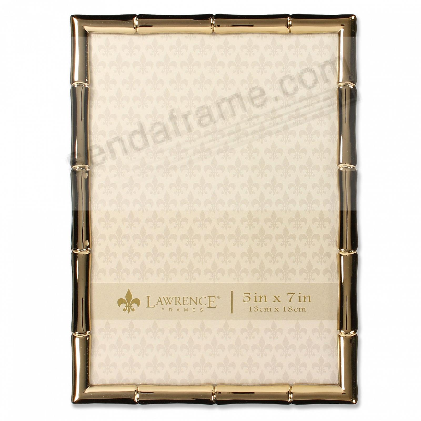 Goldplate BAMBOO 5x7 by Lawrence®