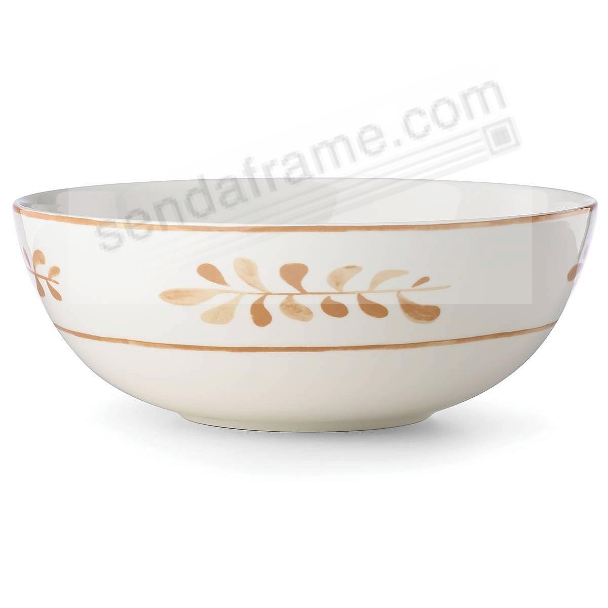 SIENNA LANE LEAVES Serving Bowl by kate spade new york®