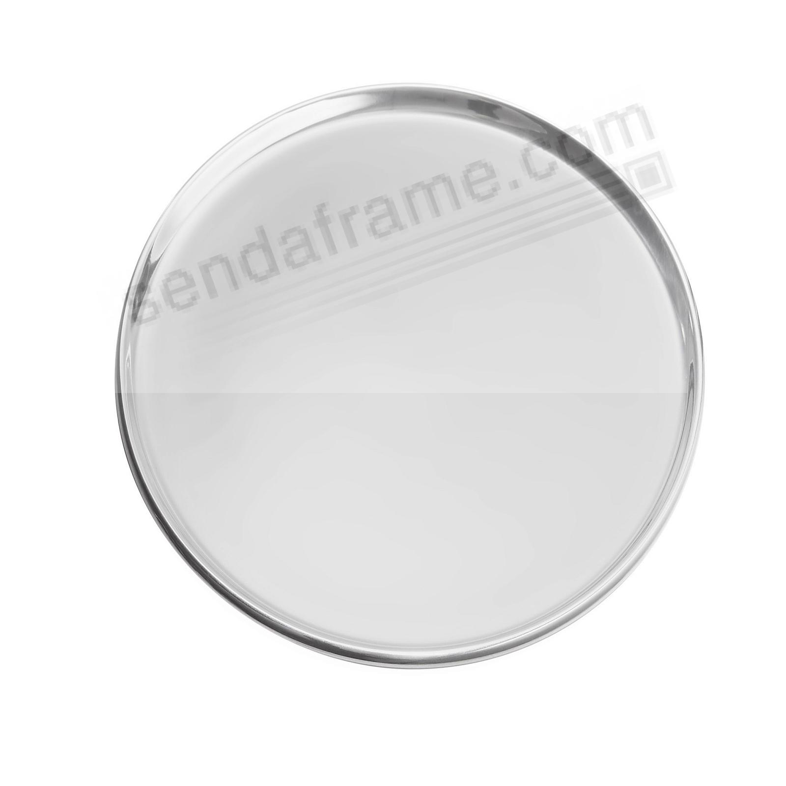 CLASSIC ROUND SERVING 13x13 TRAY crafted by Nambe®