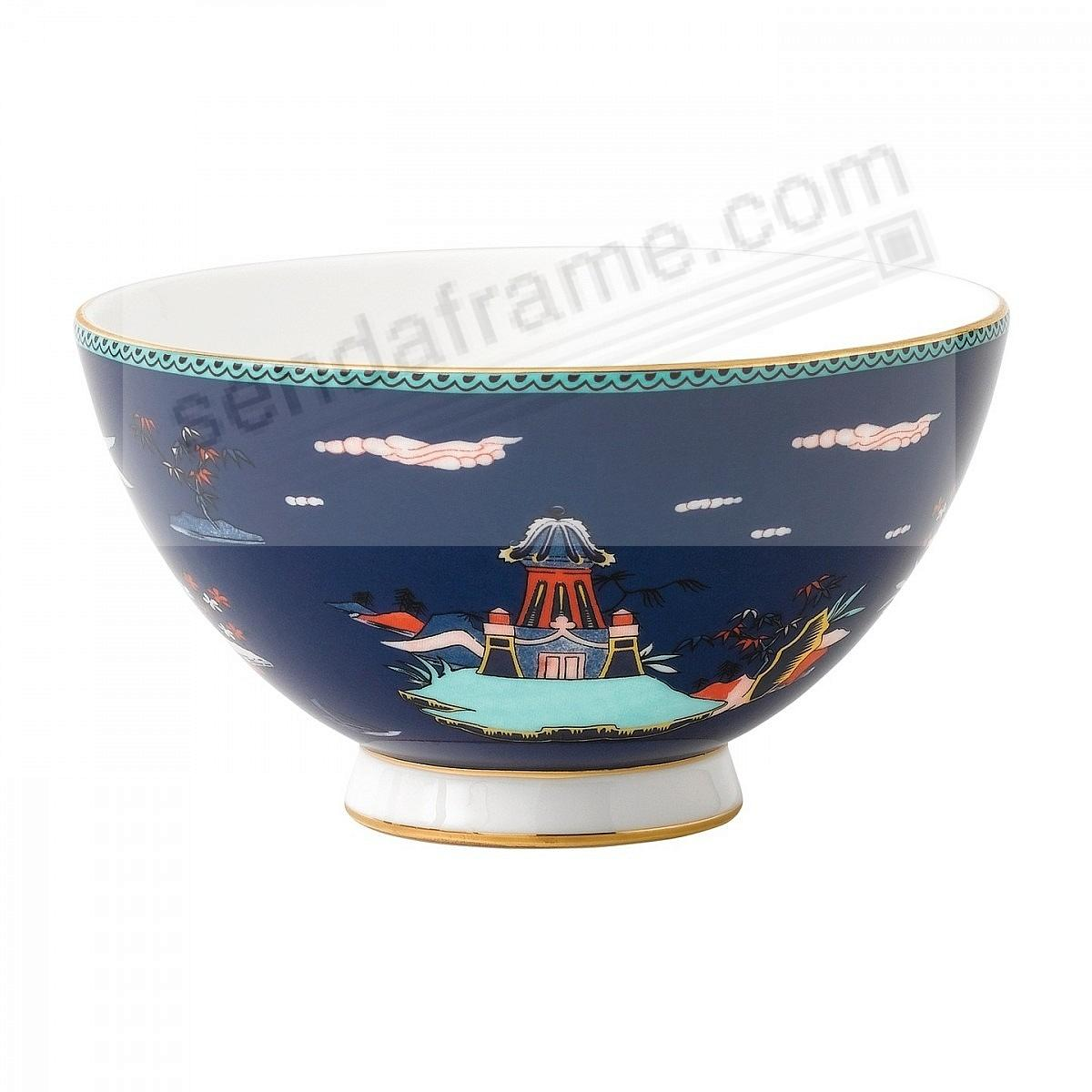 Wonderlust BLUE PAGODA 4-in Bowl by Wedgwood®