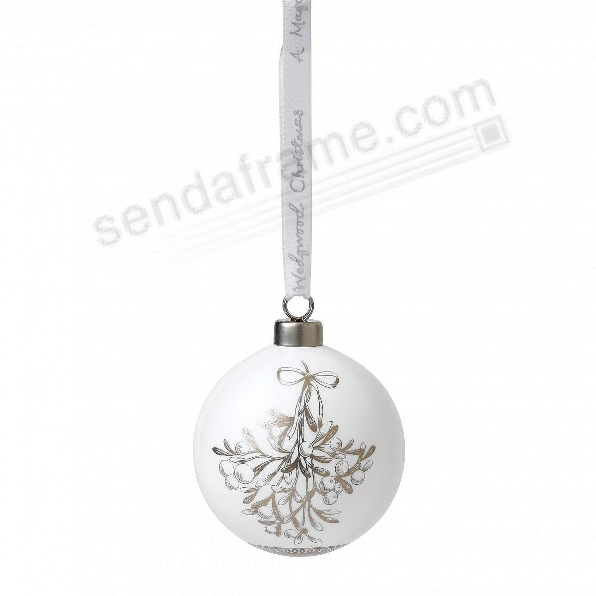 2018 MISTLETOE Ornament by Wedgwood®