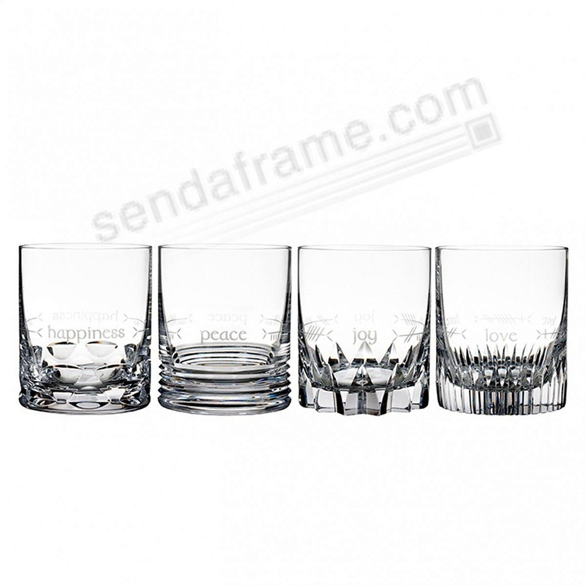 Ogham Double Old Fashioned (DOF/12oz) by Waterford® (set of 4)