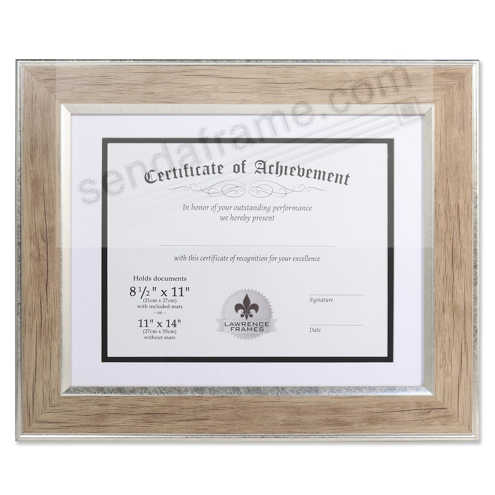 Blonde Document Matted 14x11/11x8½ (DUAL USE) by DAX® - Picture ...