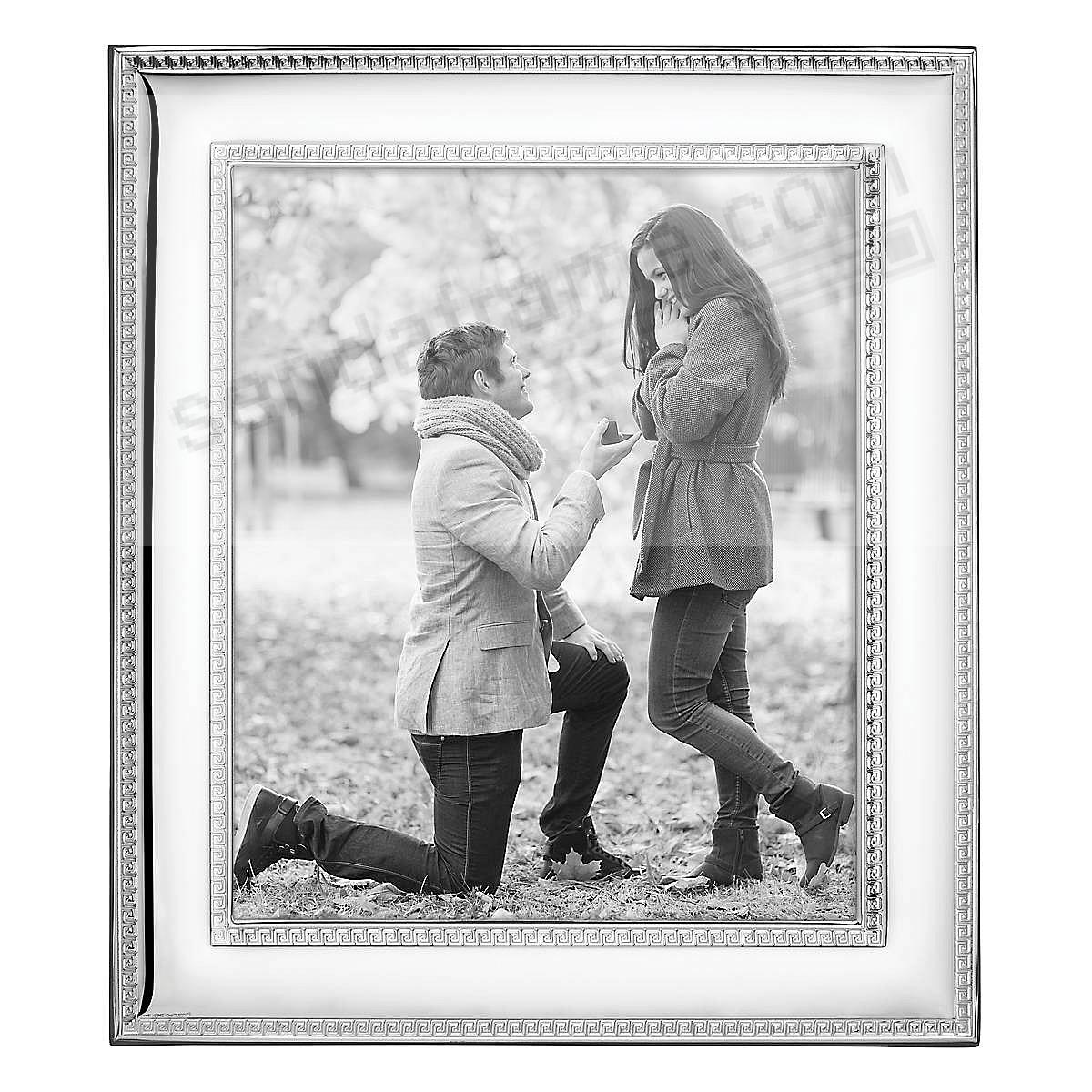FLORENCE Silverplate w/Wood back 8x10 frame by Reed & Barton®