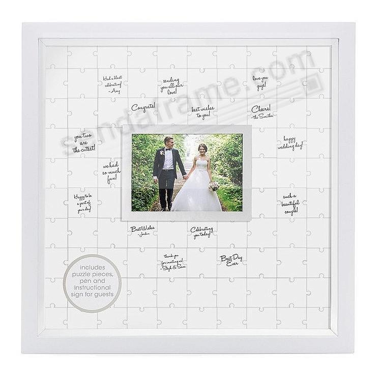 GUESTBOOK PUZZLE FRAME Kit by PEARHEAD®