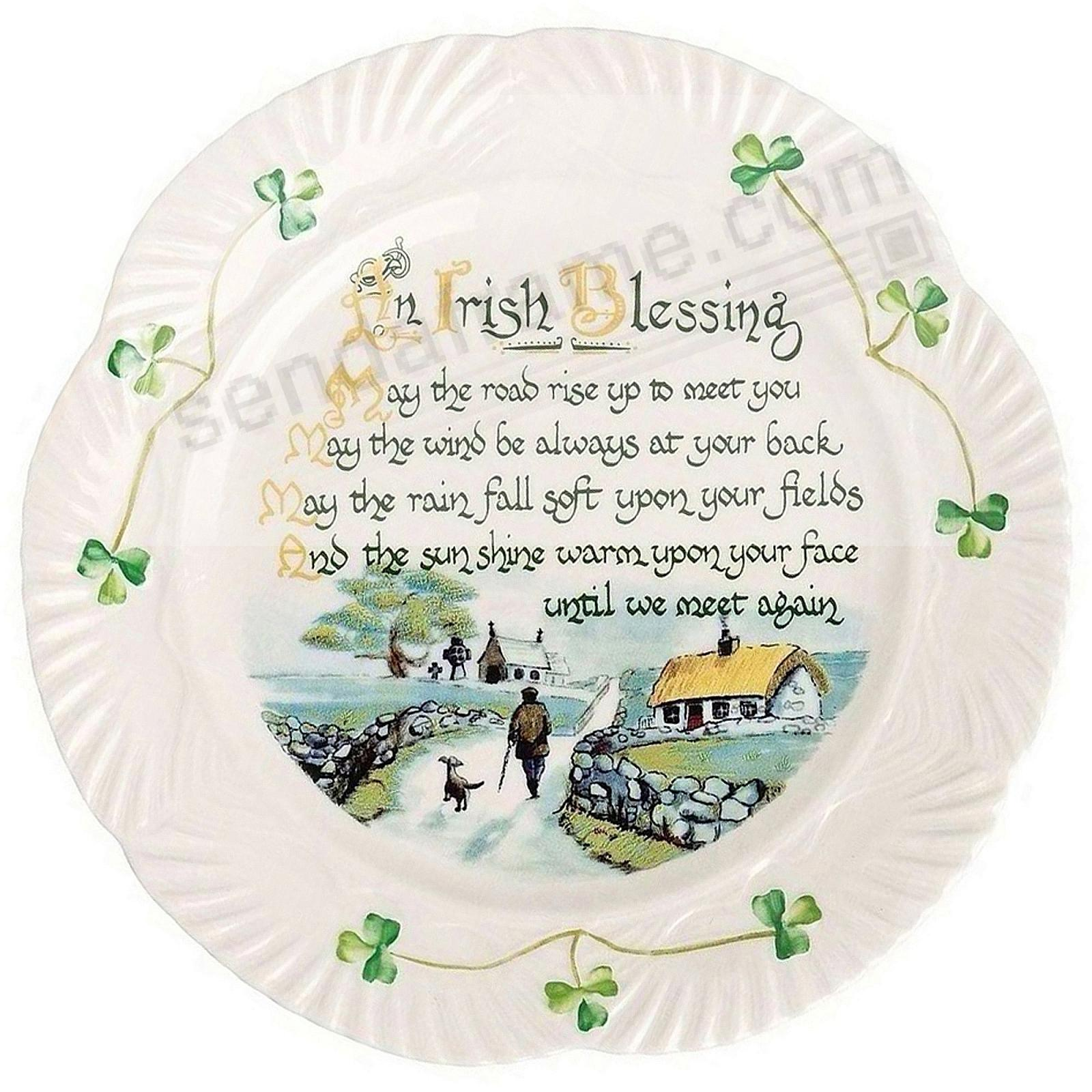 HARP IRISH BLESSING PLATE by Belleek®
