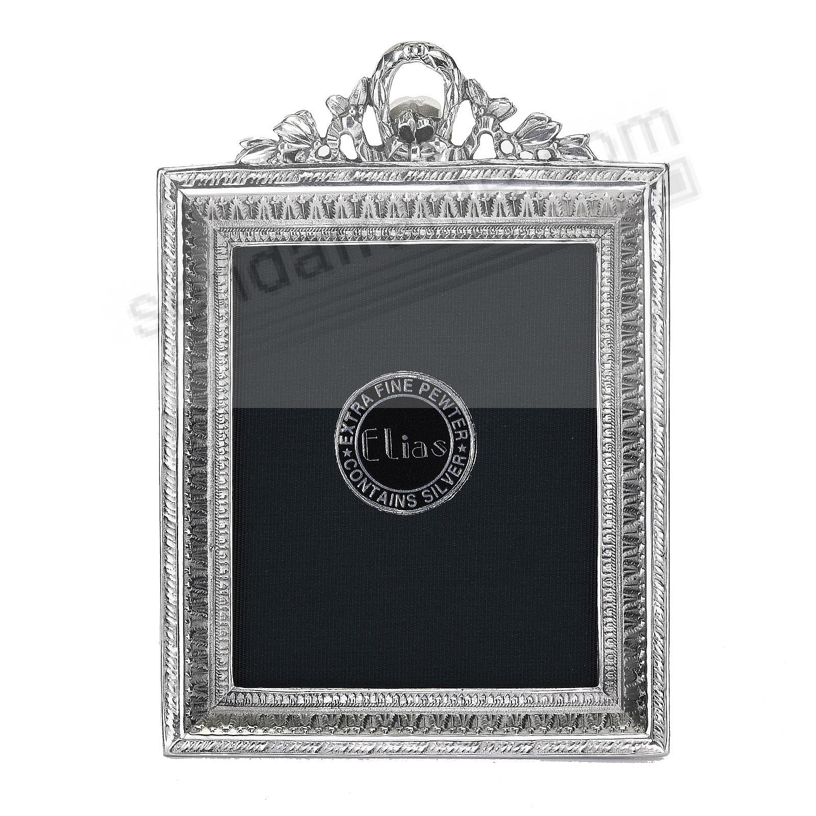 MINI PORTRAIT Fine Silvered Pewter 2x2½ Elias Artmetal®