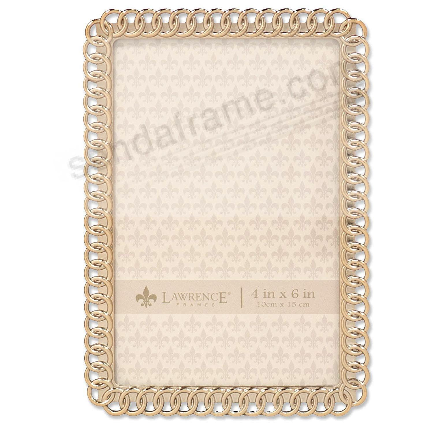 ETERNITY RINGS goldplate 4x6 frame by Lawrence®
