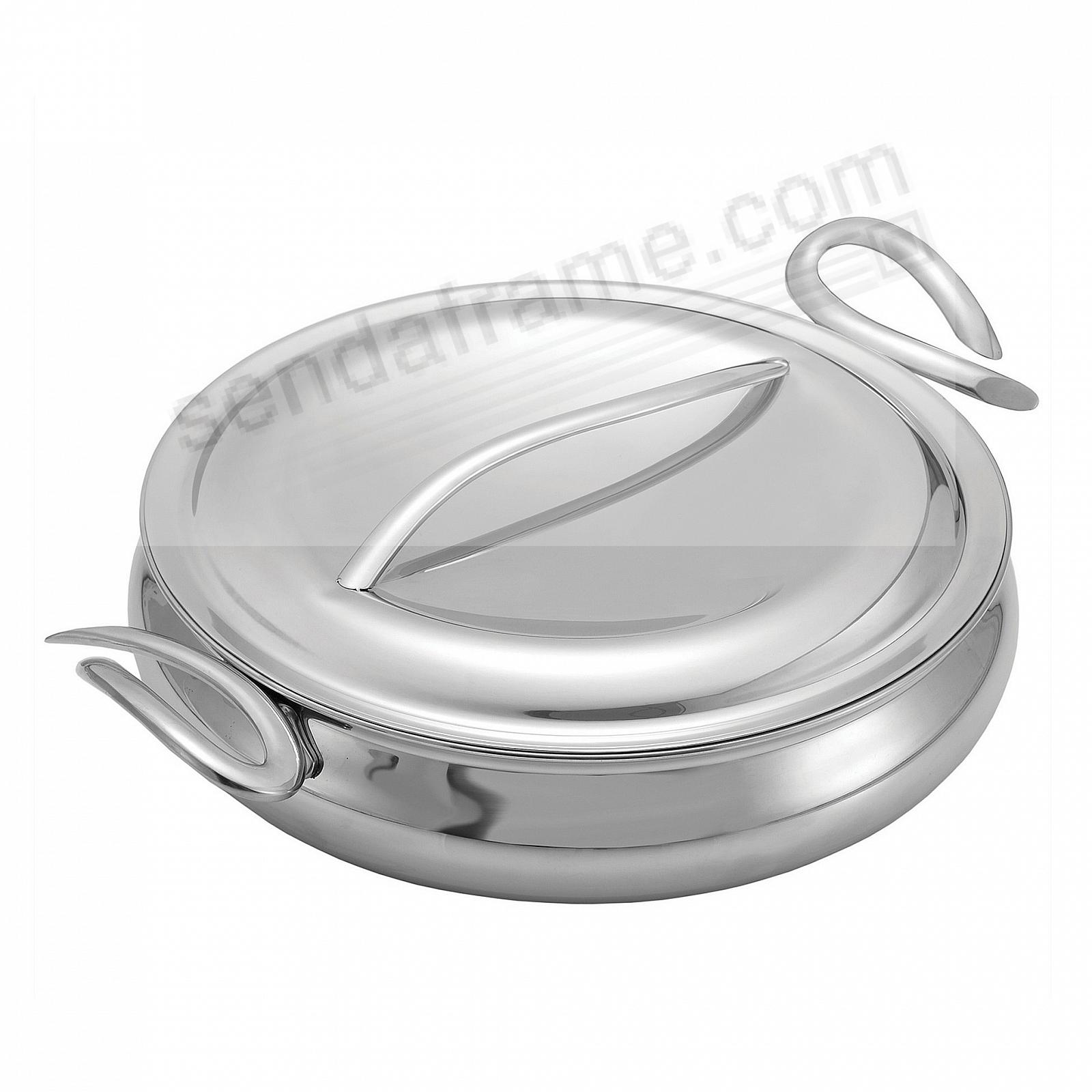 The Original CookServ 12-Inch Saute Pan with Lid by Nambe®