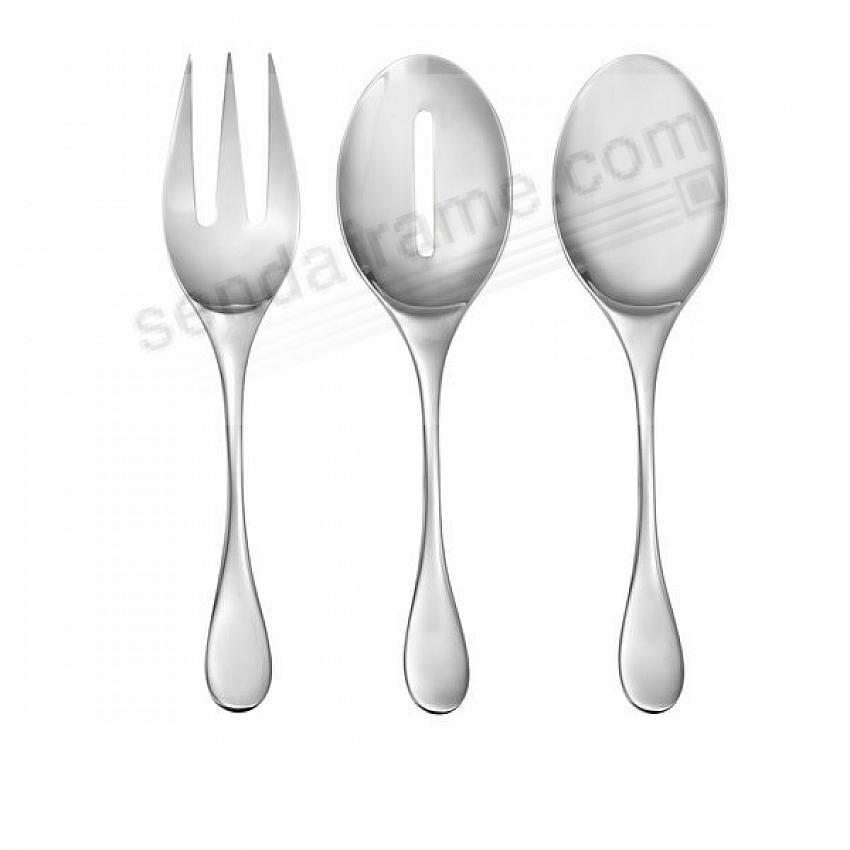 The SKYE 3PC Hostess Set 18/10 Stainless by Nambe®
