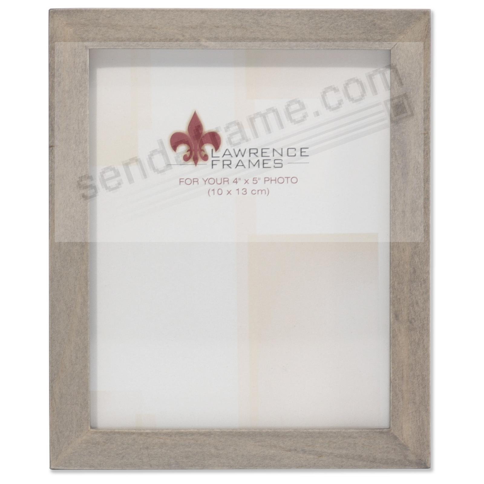 SQUARE CORNER Gray Stain 4x5 frame by Lawrence Frames®