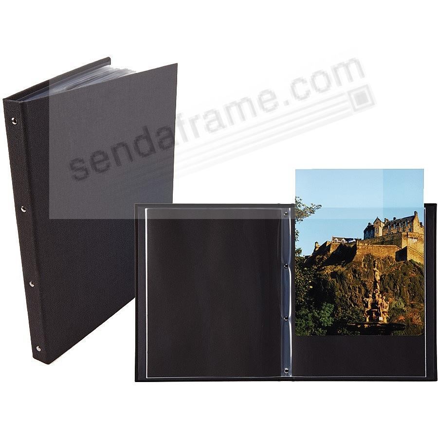 The PROFESSIONAL ProFolio BookBound 8½x11 by Itoya® with Polyglass® pockets