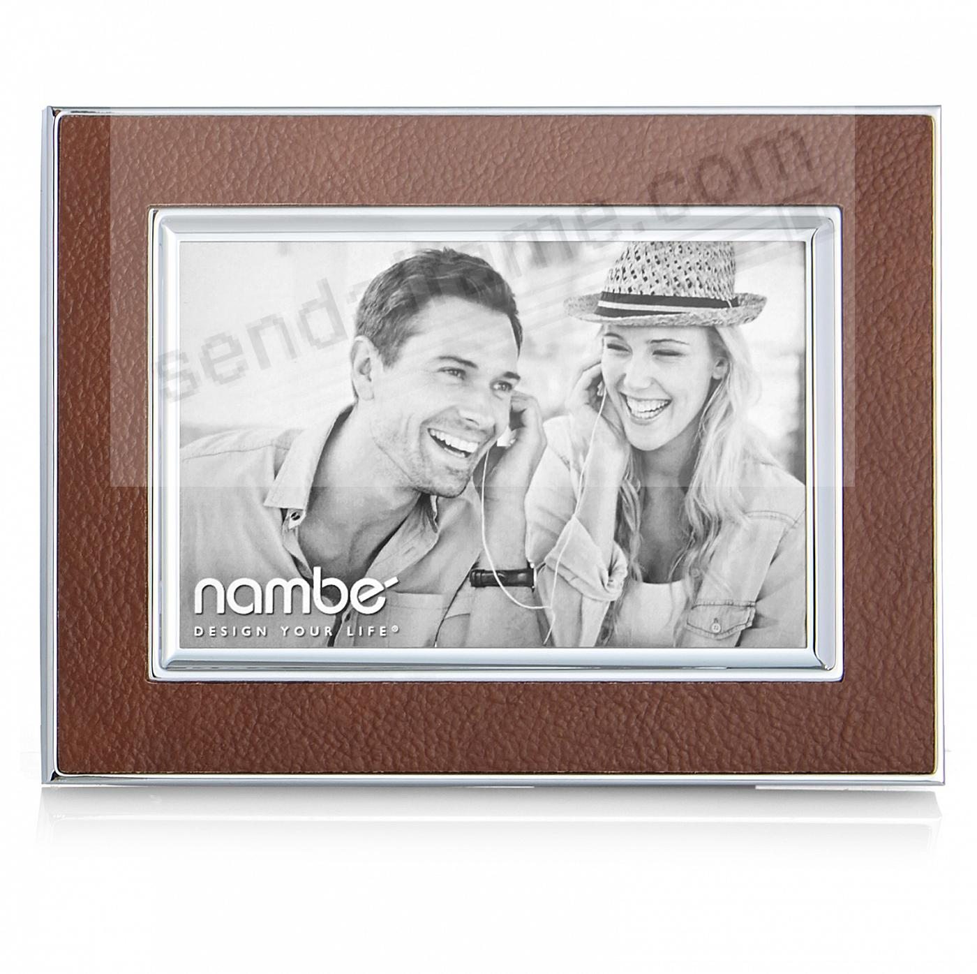 The NOVARA 4x6 frame by Nambe